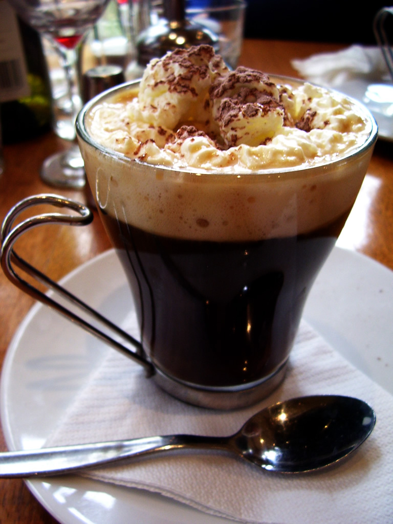 Coffee Recipes - Irish Coffee