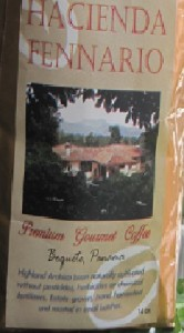 Hacienda Fennario Coffee