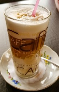 Learn how to make latte and then make eggnog latte for the holidays.