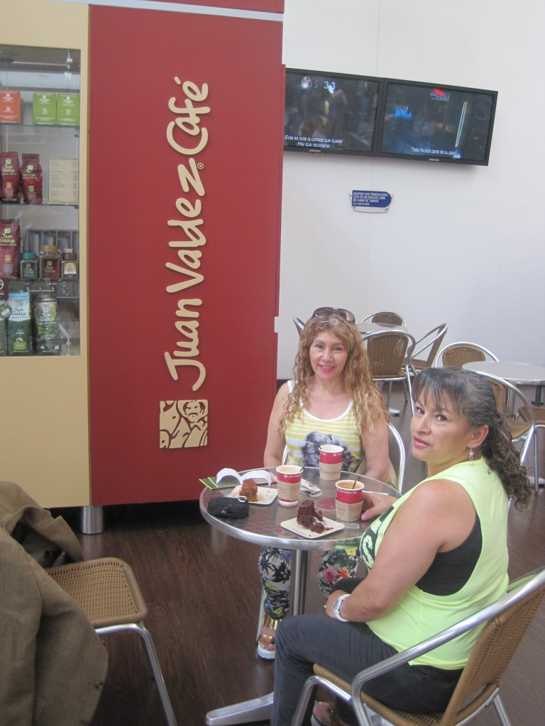 Manizales: Juan Valdez Coffee Shop