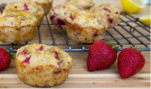 Trader Joes brands include great recipes like for strawberry lemon muffins right on their web site.